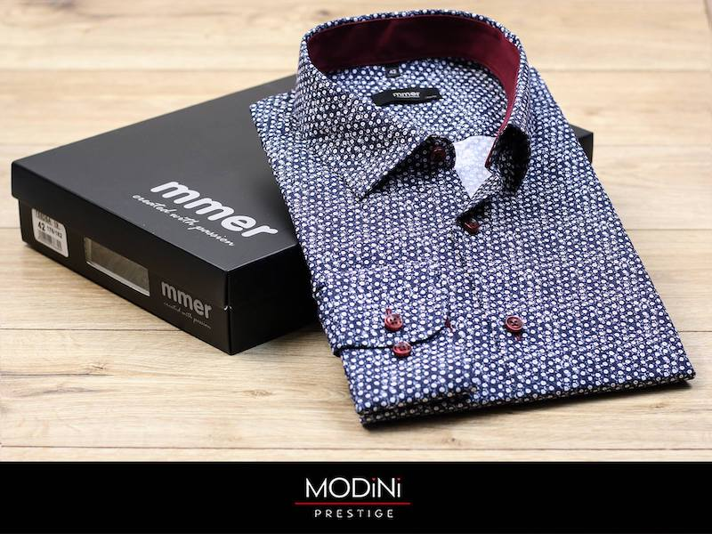Koszula męska i mucha to klasyczne połączenie.